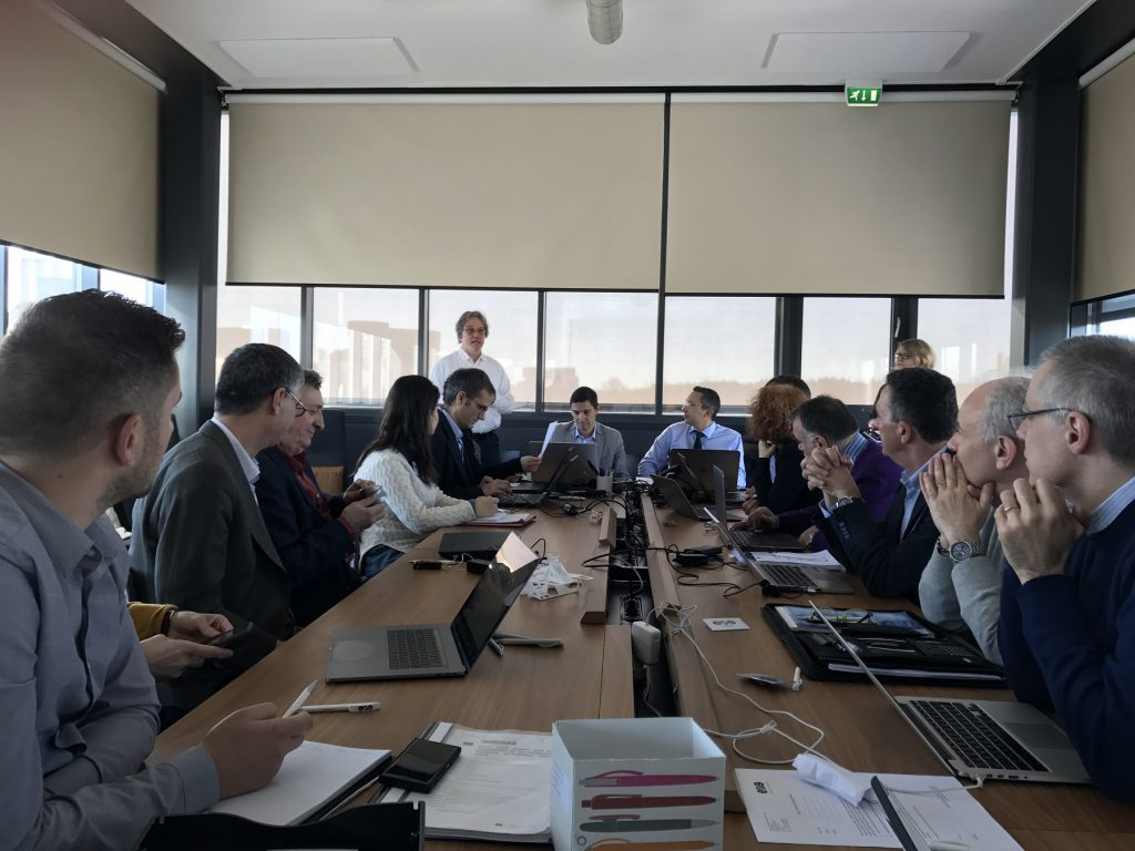 Dream Project partners at work for the first Technical Meeting