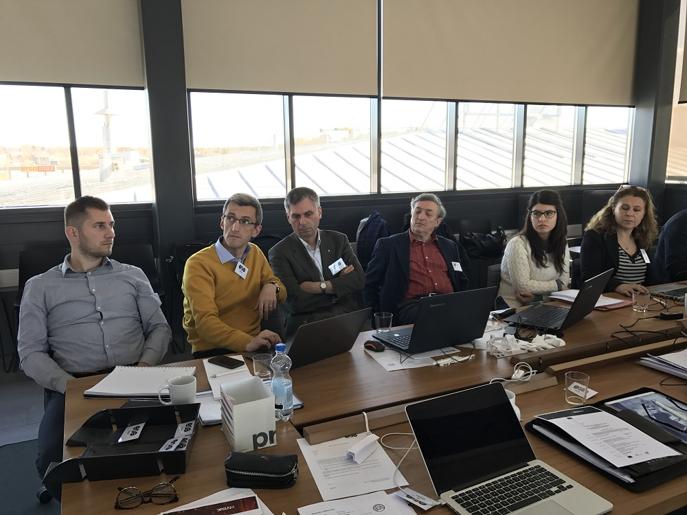 Dream-partners-at-work-for the fist technical meeting