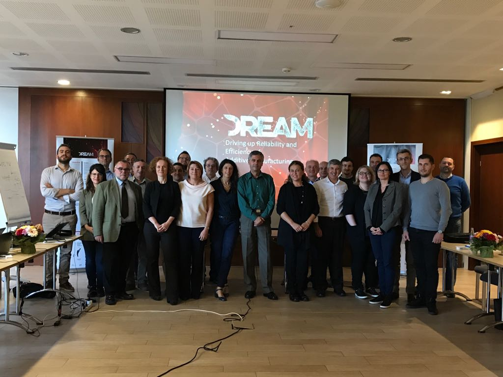 DREAM project partners at 2nd technical meeting